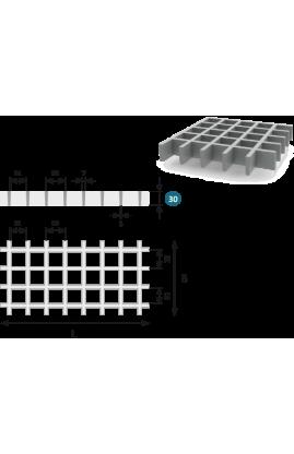Lasikuituritilä ISO30 38 x 38 mm