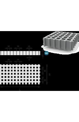 Lasikuituritilä ISO60 26 x 26 mm