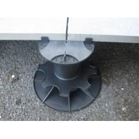 Lattiatuki jalusta betonilaatalle säätöväli 130-150 mm