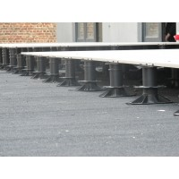 Lattiatuki jalusta betonilaatalle säätöväli 50-90 mm