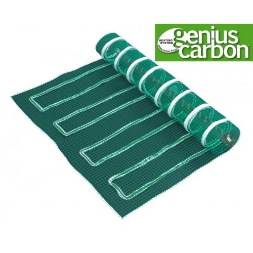 Genius Carbon - lattialämmitysverkko 150 x 150 cm
