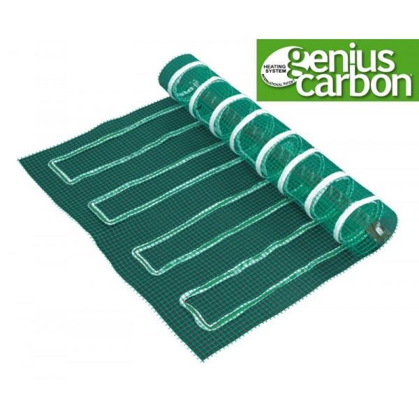 Genius Carbon - lattialämmitysverkko 150 x 250 cm