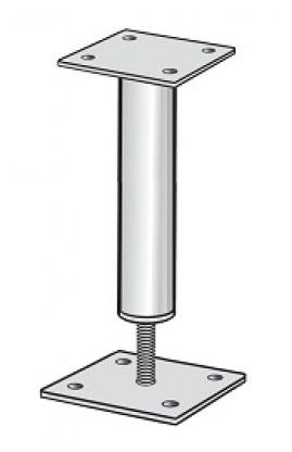 Putkipilarikenkä 350 korkeussäädettävä 60x300  110 x 110